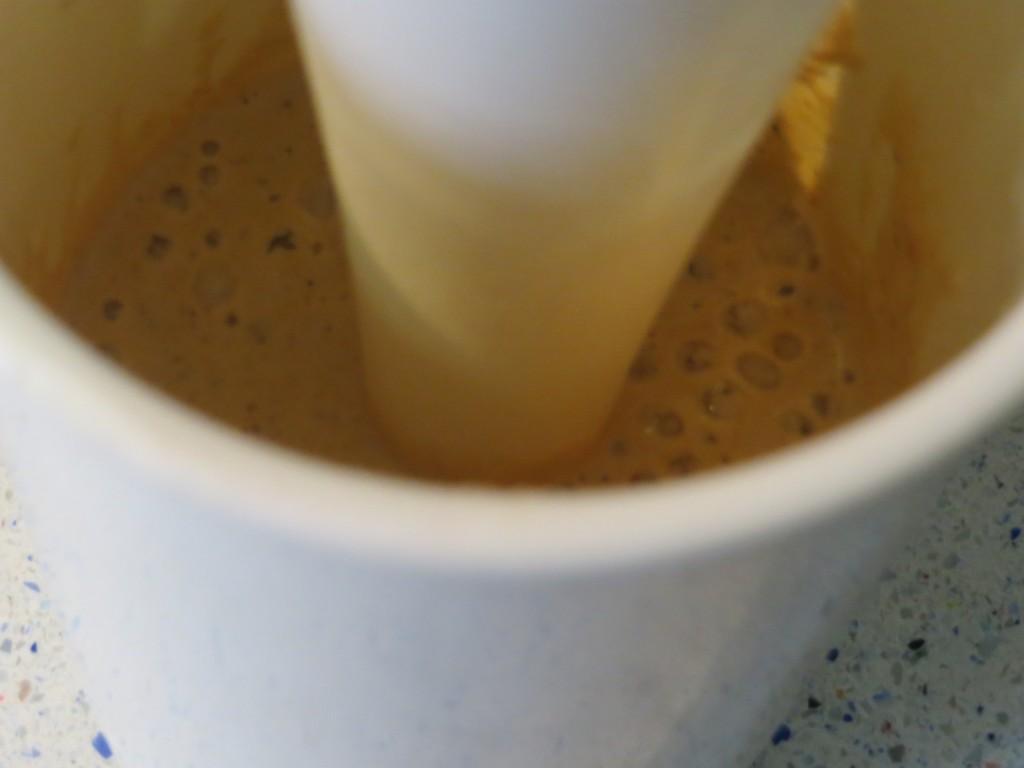 triturado dela salsa de erizo