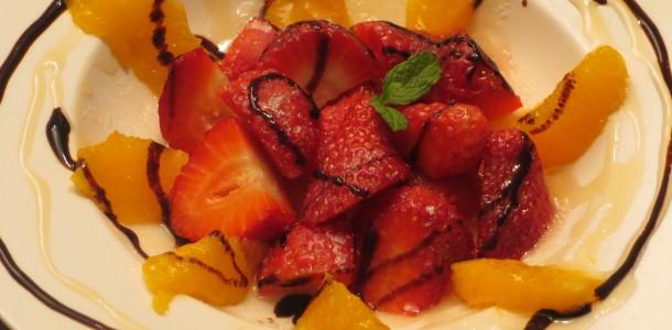 receta fresones con naranjas