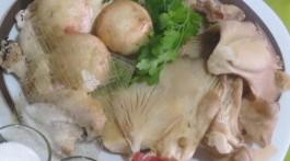 ingredientes salsa de setas blancas