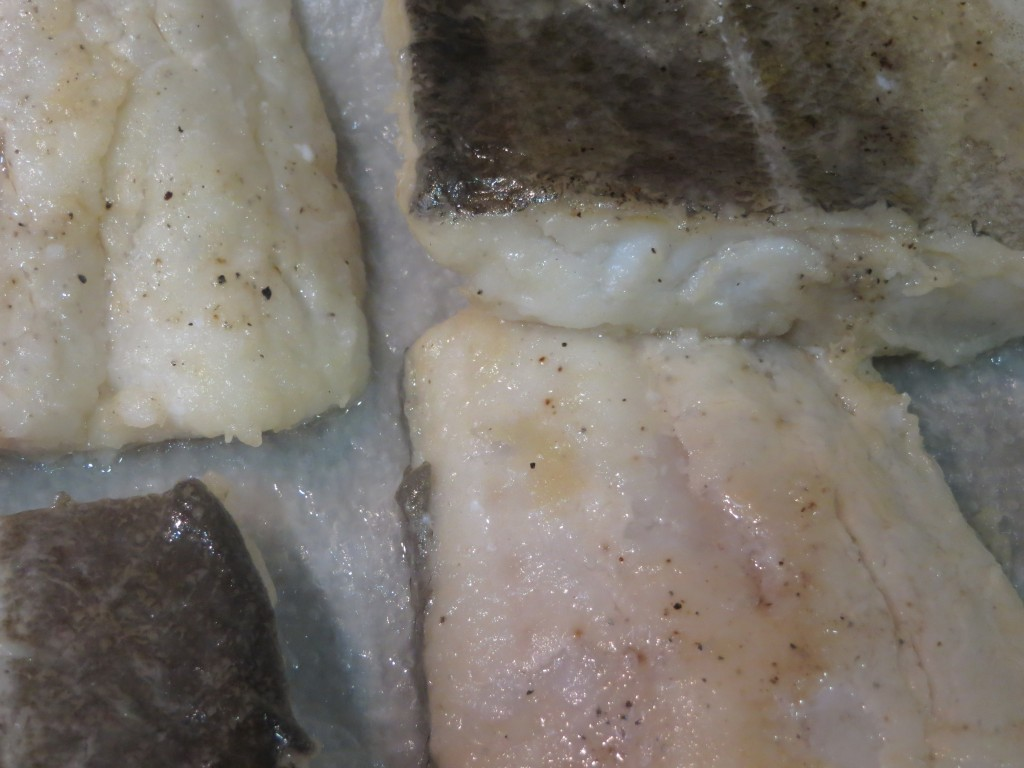 lomos de bacalao sellados
