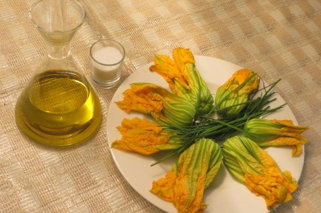 flores de calabacín