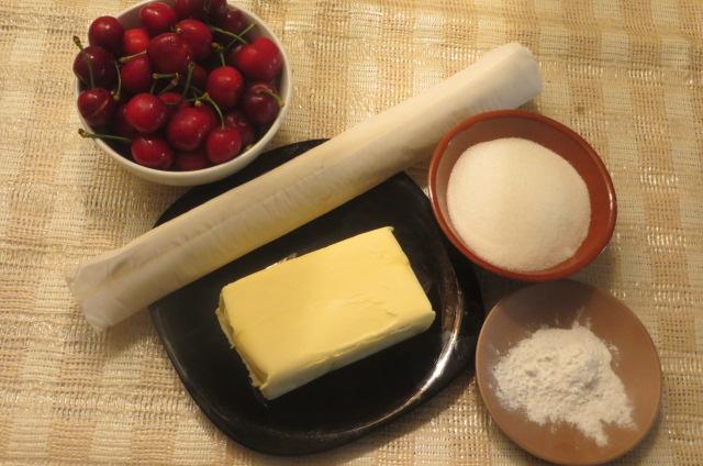 ingredientes de la tarta Tatín