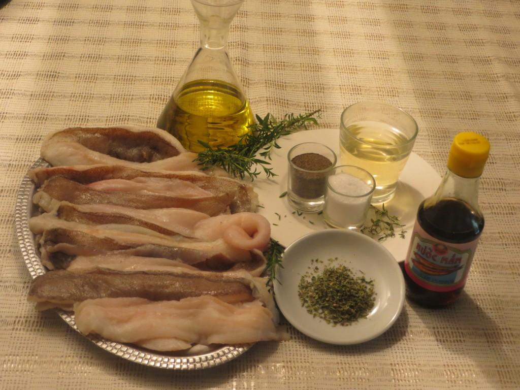 ingredientes del pastel de pescado