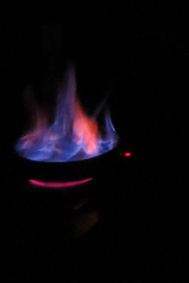 flambeado del ron cremat