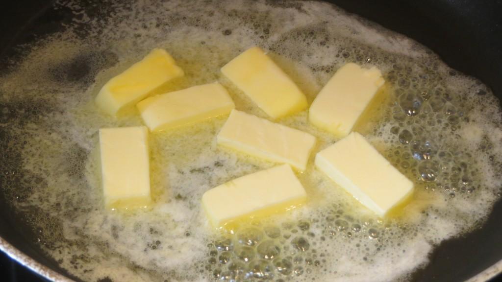 mantequilla derritiéndose