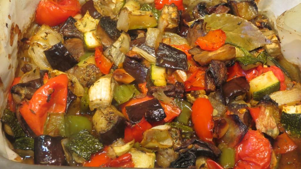 verduras horneadas