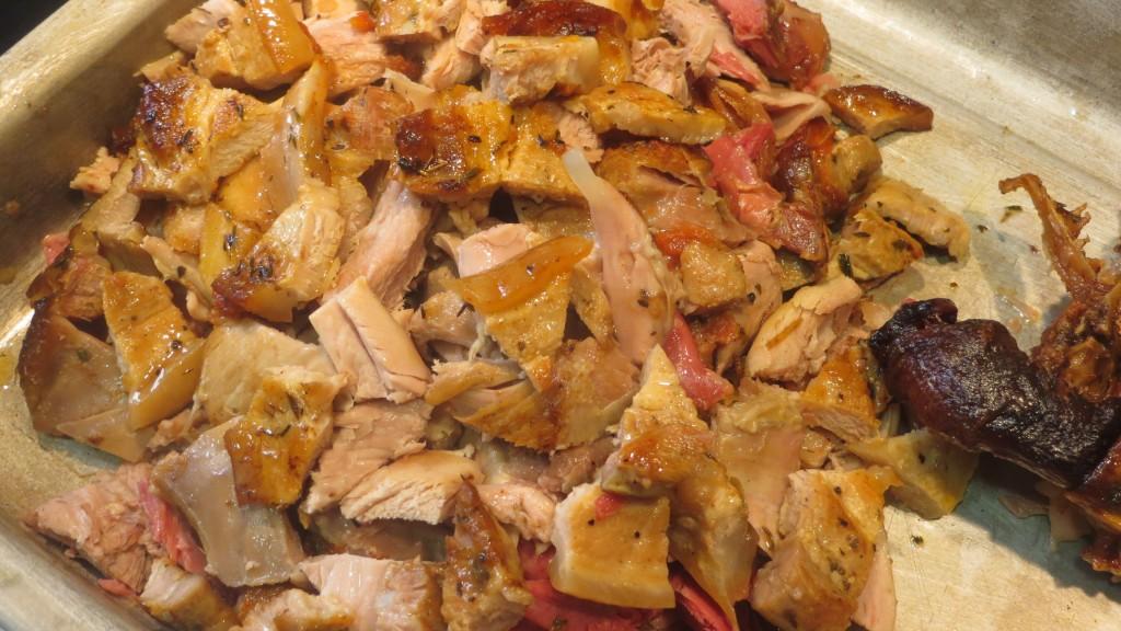 carnes sin piel y sin huesos troceadas