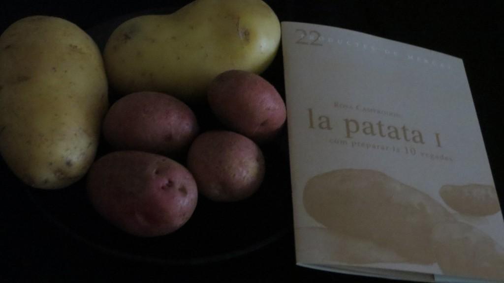 libro La patata I núm. 22 de la colección productes de mercat
