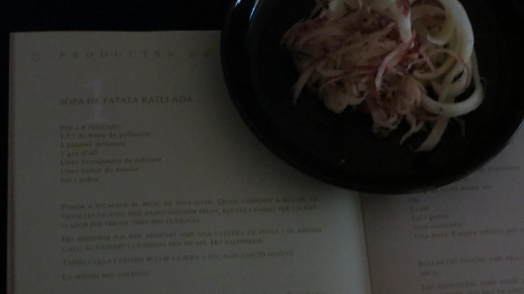 una de las recetas del libro La patata I