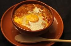 sopa castellana servida