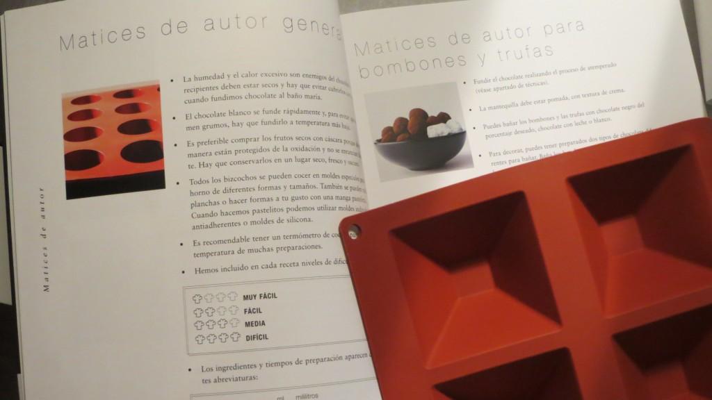 una de las técnicas del libro La cocina dulce