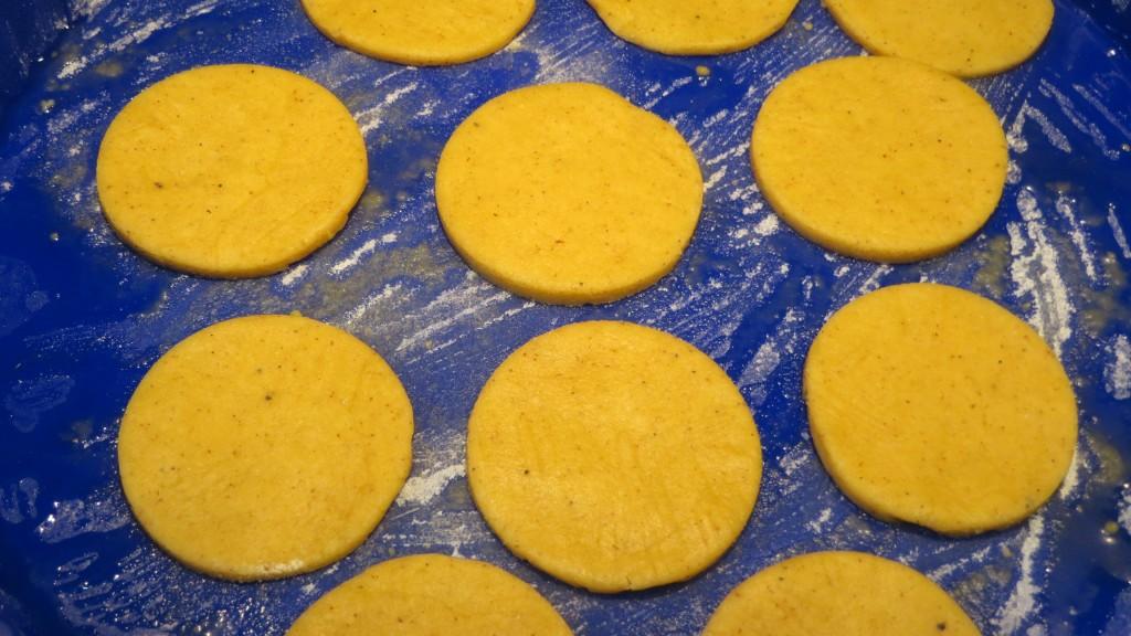 galletas preparadas para ser horneadas