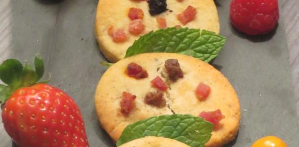 galletas saladas de habas a la catalana