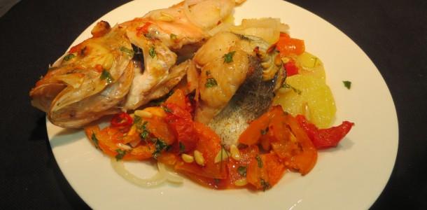 guiso de pescados