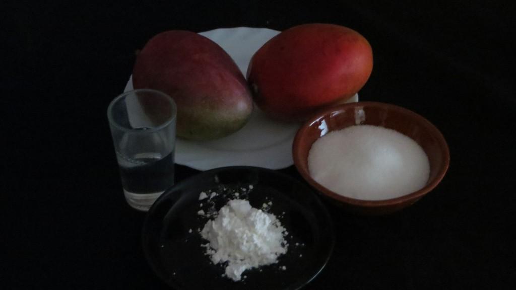 ingredientes de la salsa de mango