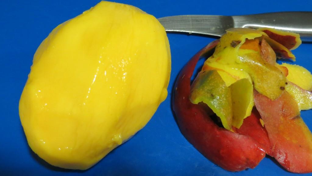mango sin piel