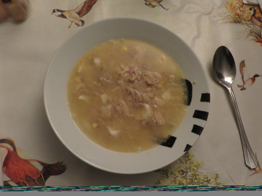 sopa de pava