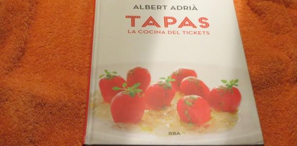 libro Tapas la cocina del Tickets