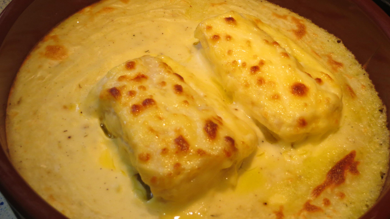 Jugando con fogones receta bacalao gratinado con mayonesa - Gratinado de patata ...
