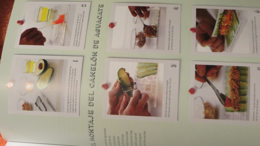 receta paso a paso del libro Tapas la cocina del Tickets