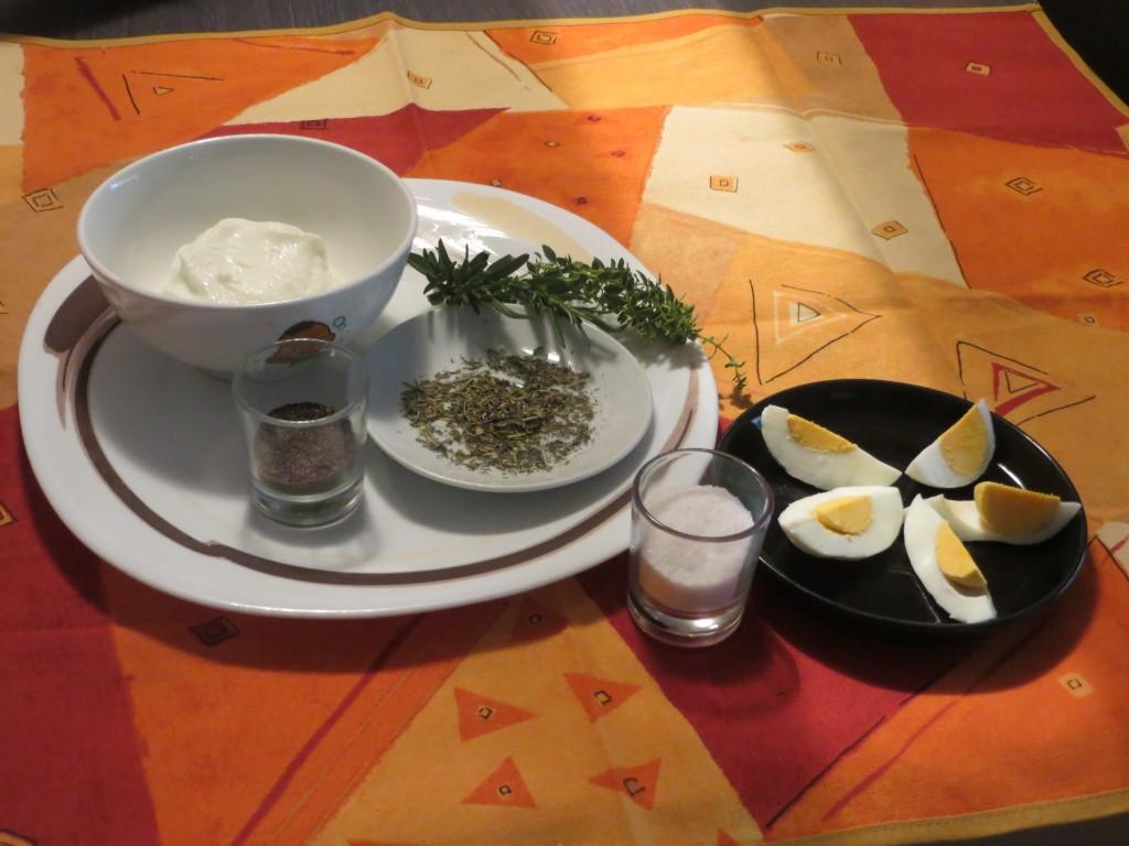 ingredientes de la mayonesa dieta Dukan