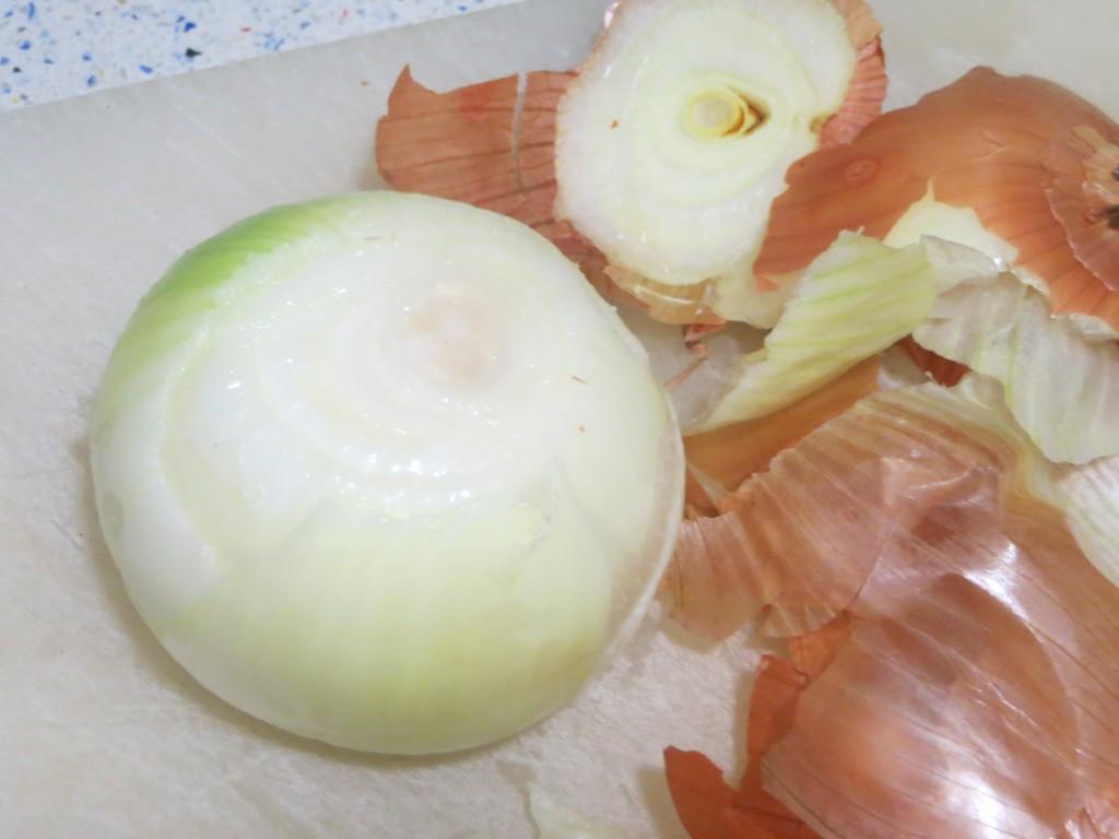 cebolla sin piel