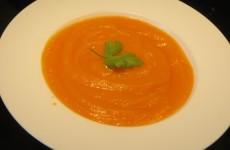 crema mixta de zanahorias