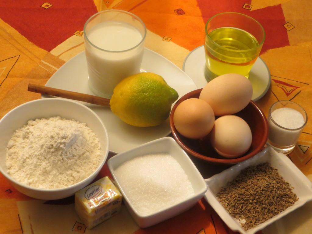 ingredientes de buñuelos de l´Empordà