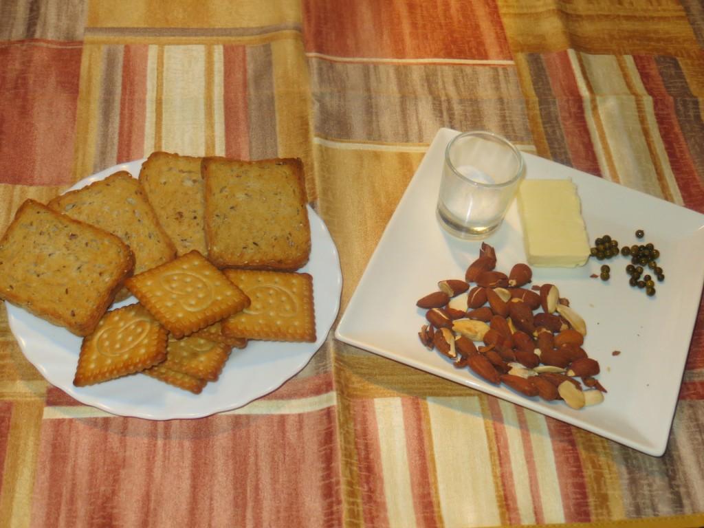 ingredientes para realizar placas de galleta