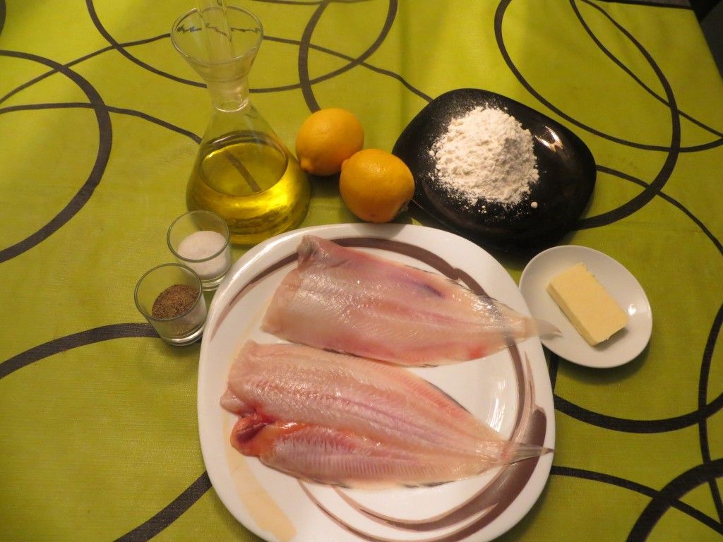 ingredientes del lenguado a la molinera