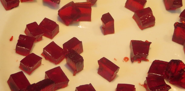 gominolas de gelatina de fresones