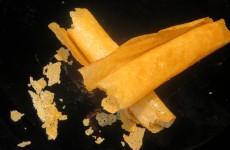 canuto crujiente de pasta brisa