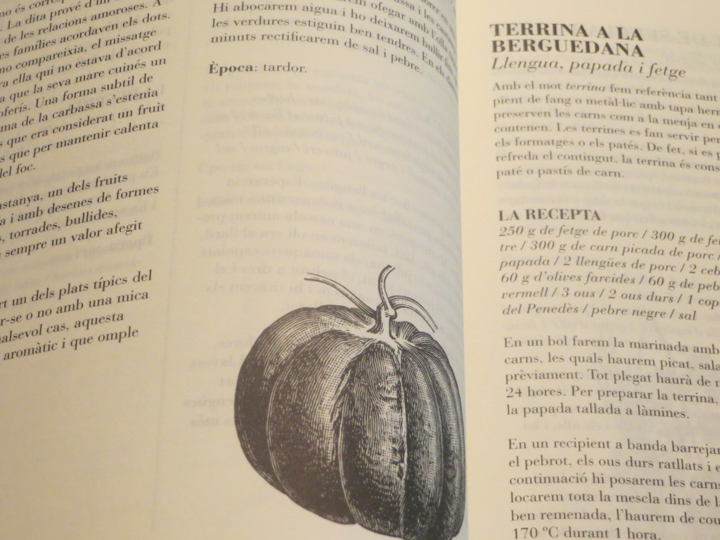 uno de los dibujos del libro 501 receptes catalanes