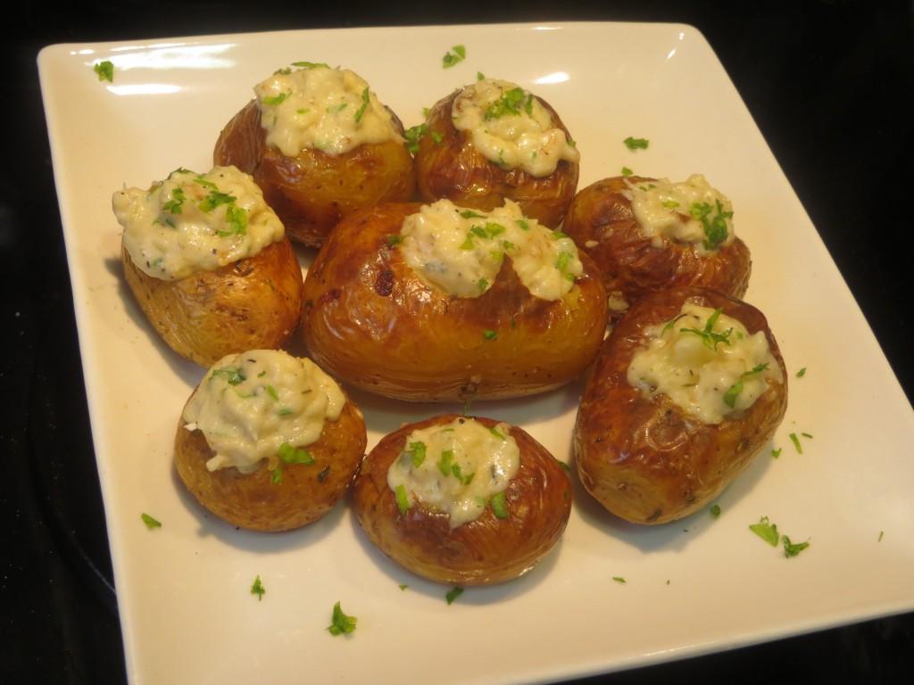 patatas rellenas con bacalao