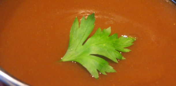 salsa de rape con mariscos