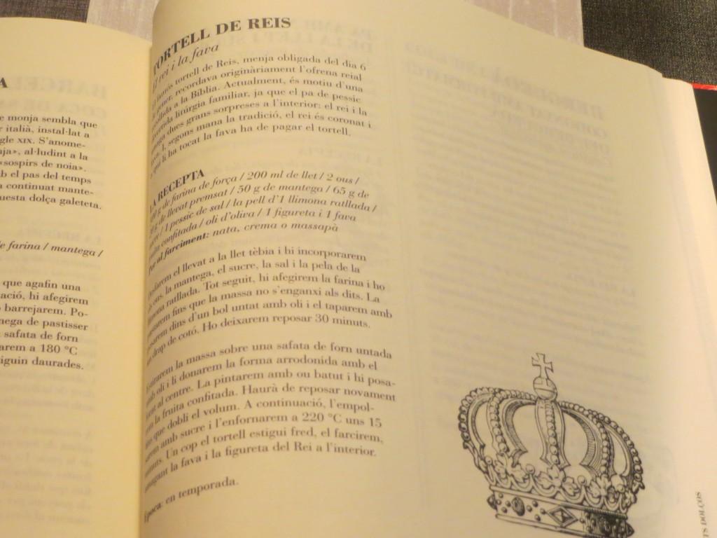receta del libro 501 receptes catalanes