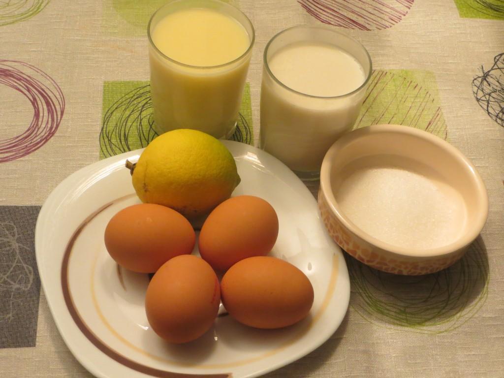 ingredientes tocinillo de leche condensada