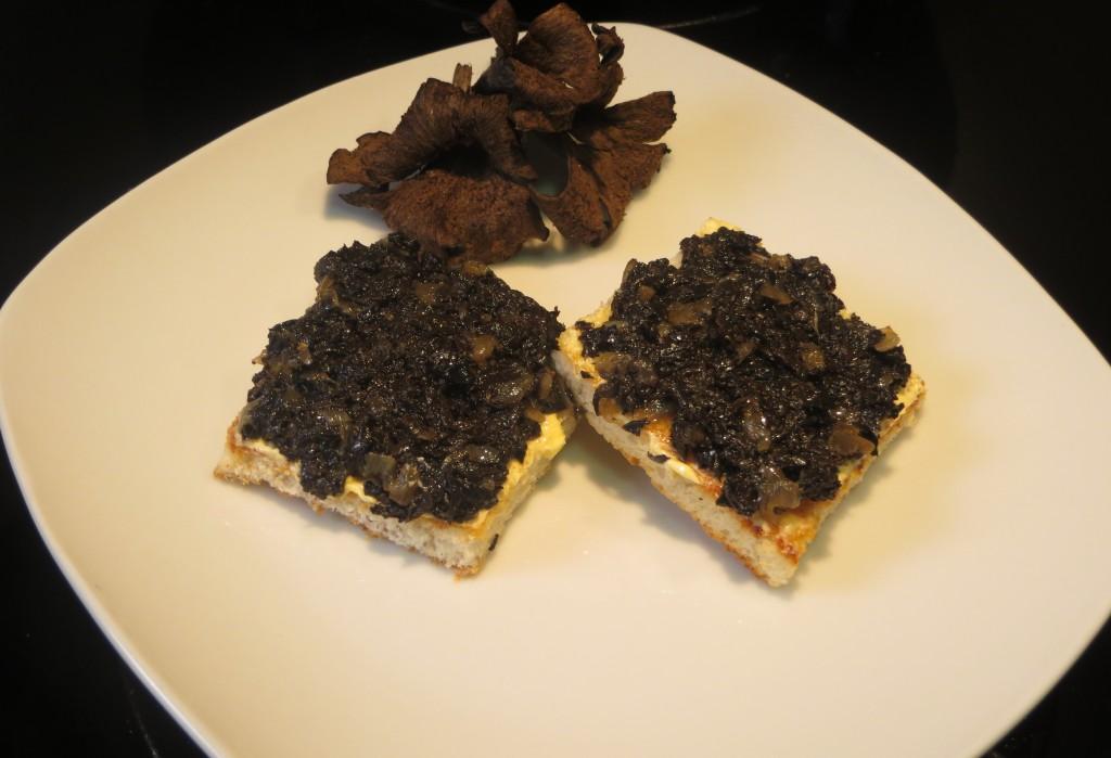 caviar de setas negro