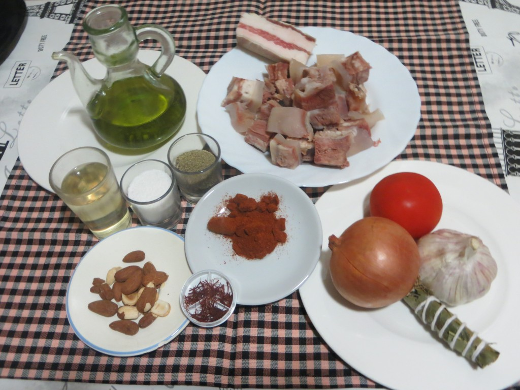 ingredientes del capipota