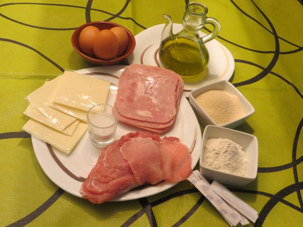 ingredientes libritos de lomo con jamón york y queso