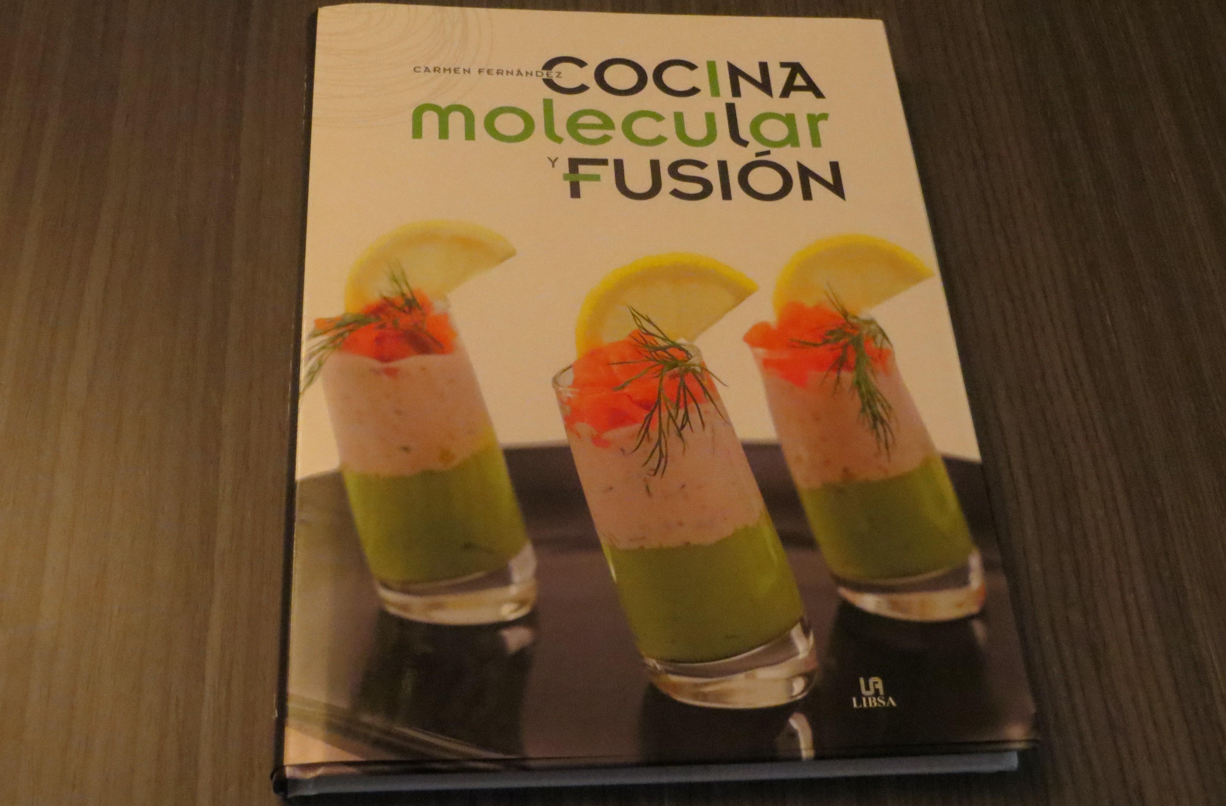 libro cocina molecular y fusión