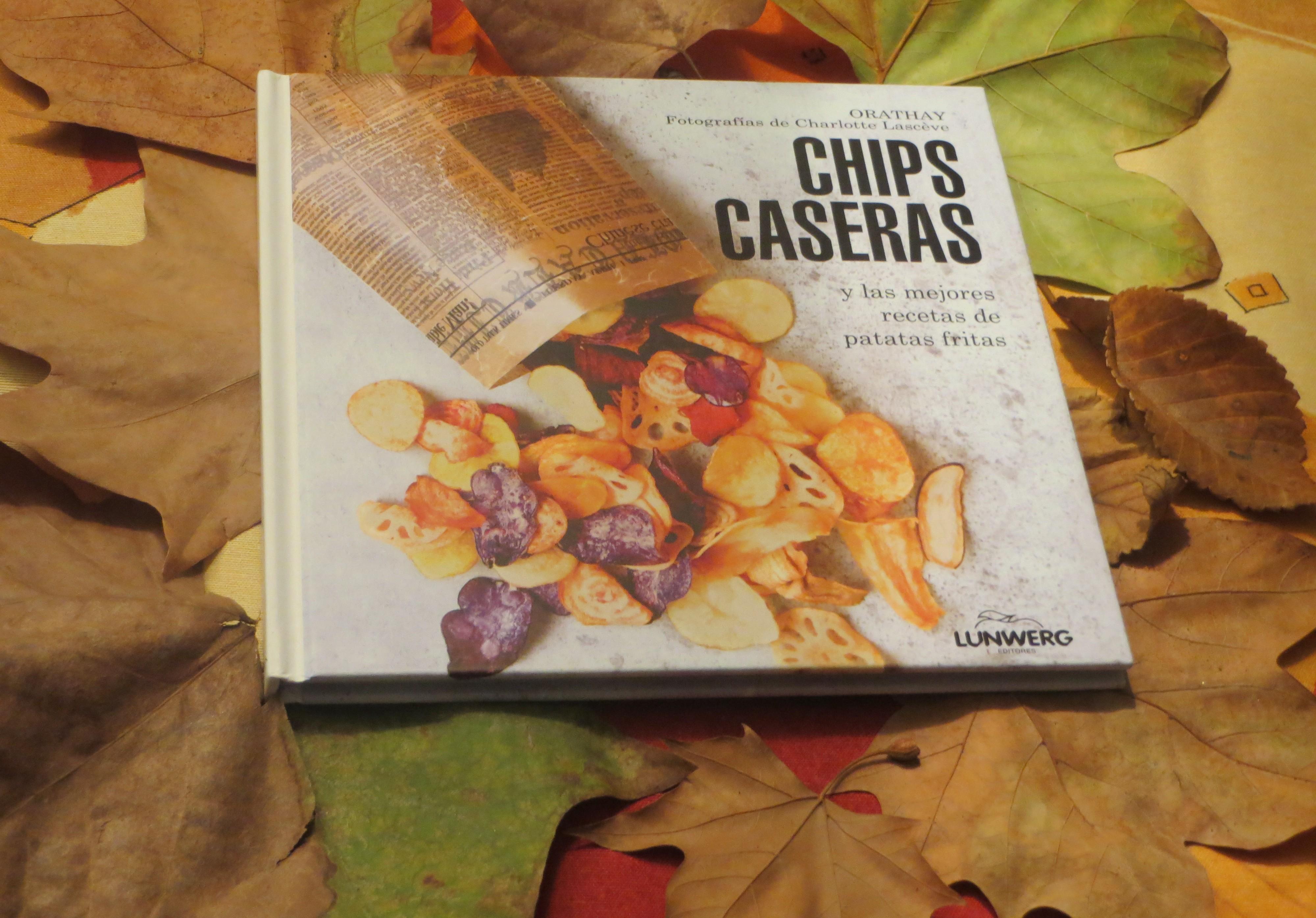 portada del libro chips caseras