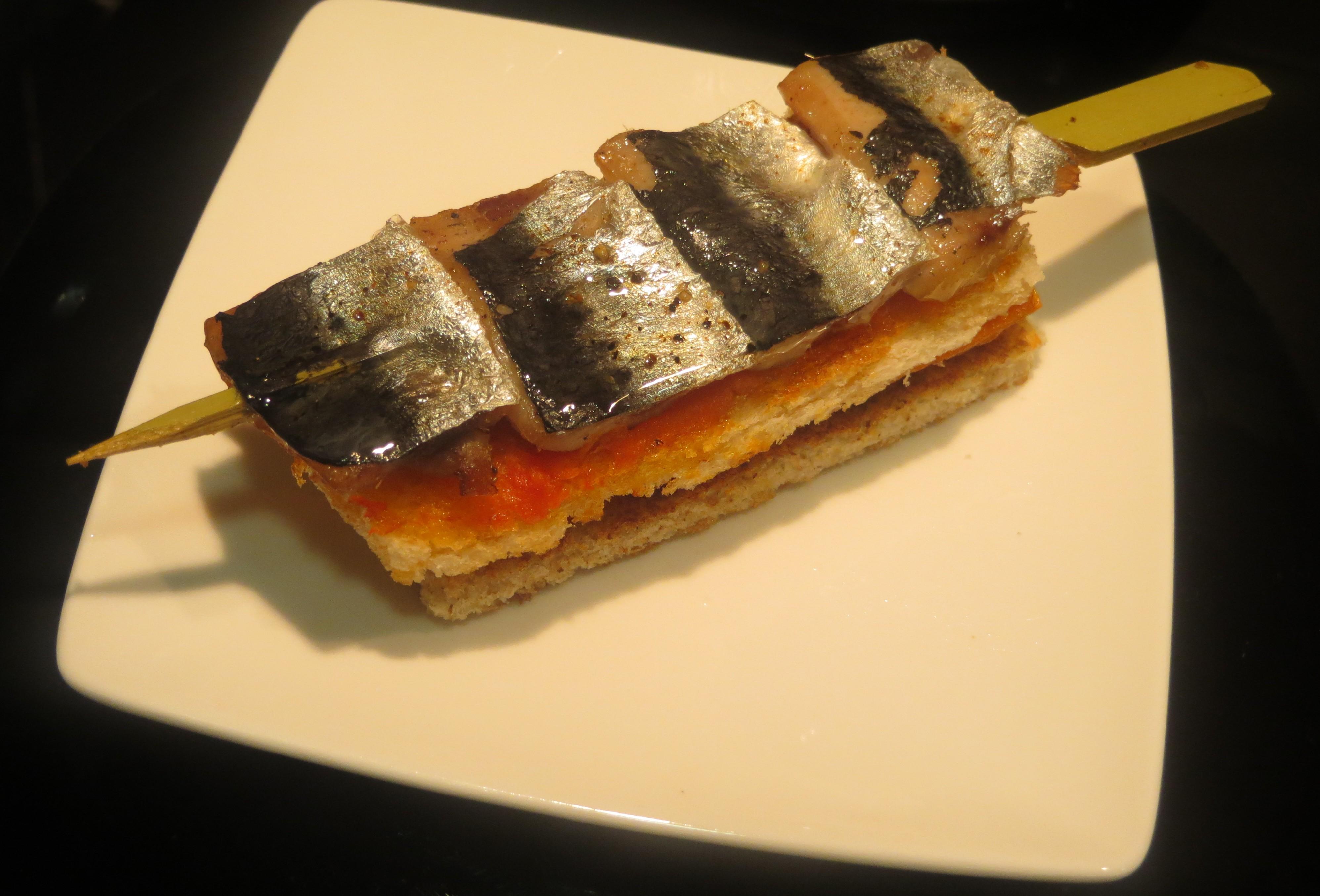 sardina al espeto