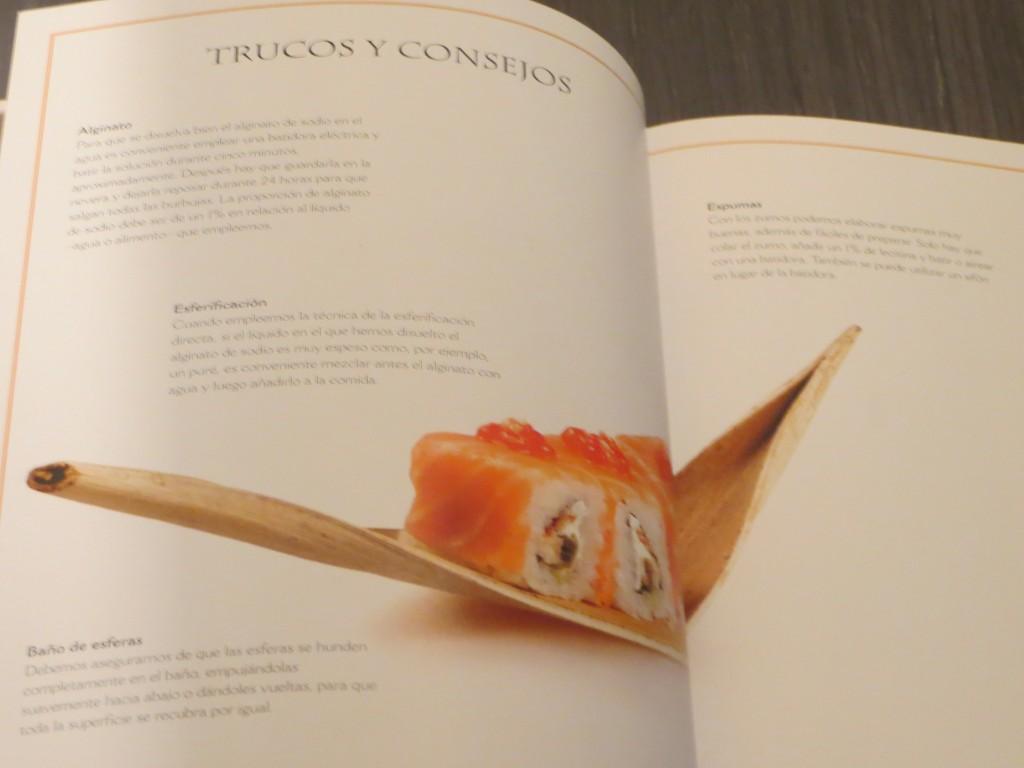 apartado del libro cocina molecular y fusión
