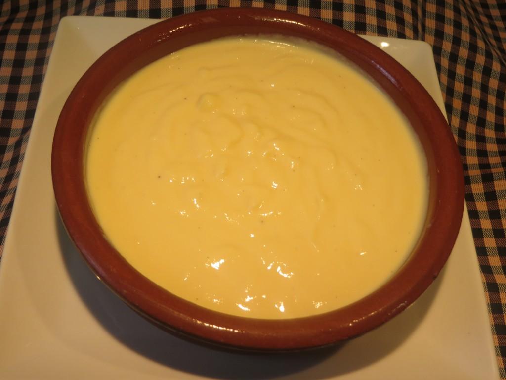 crema catalana en  cazuela individual