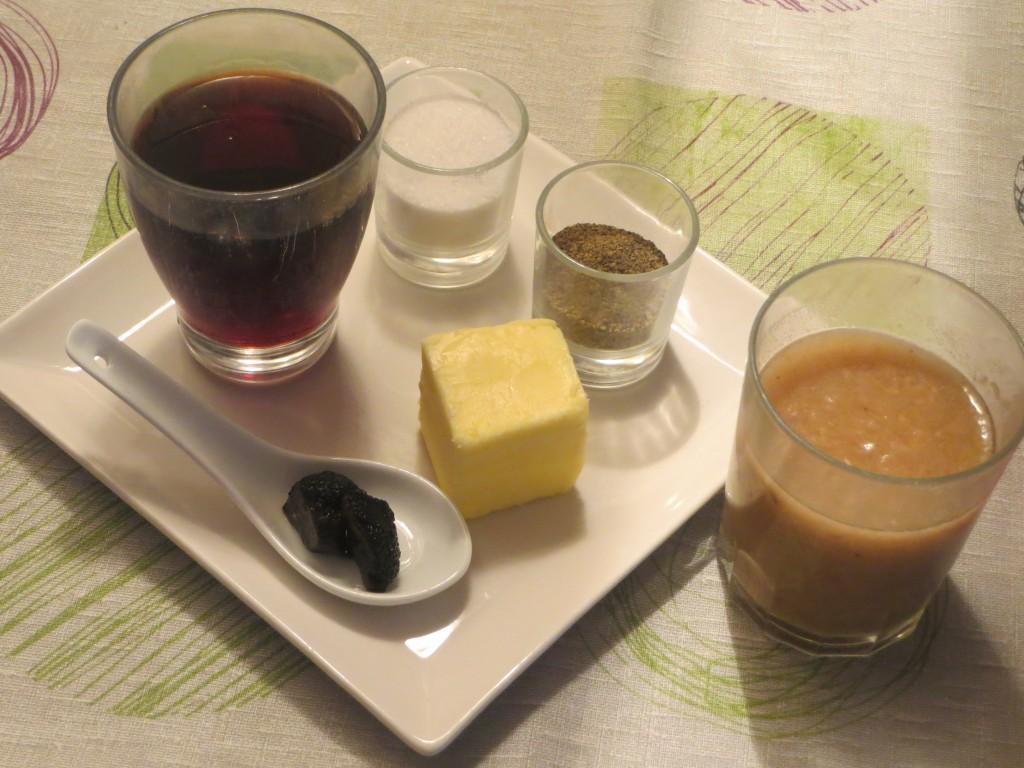 ingredientes de la salsa de trufa