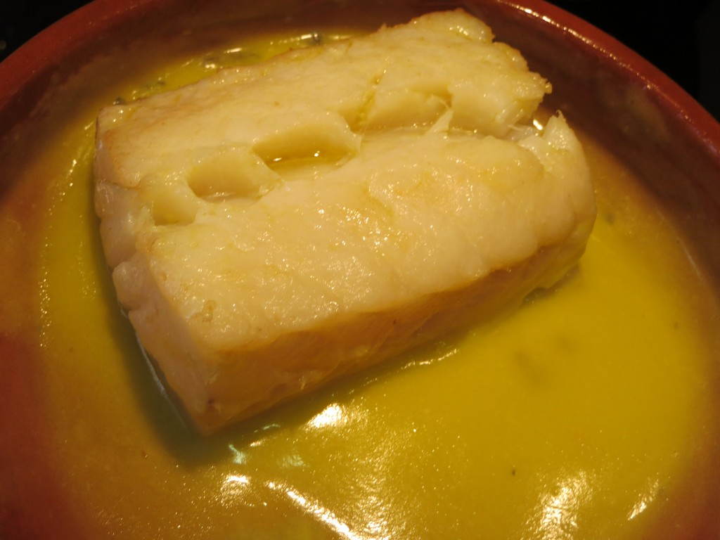 bacalao con la salsa pil-pil