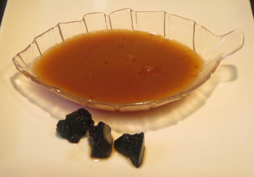 salsa al aroma de trufa