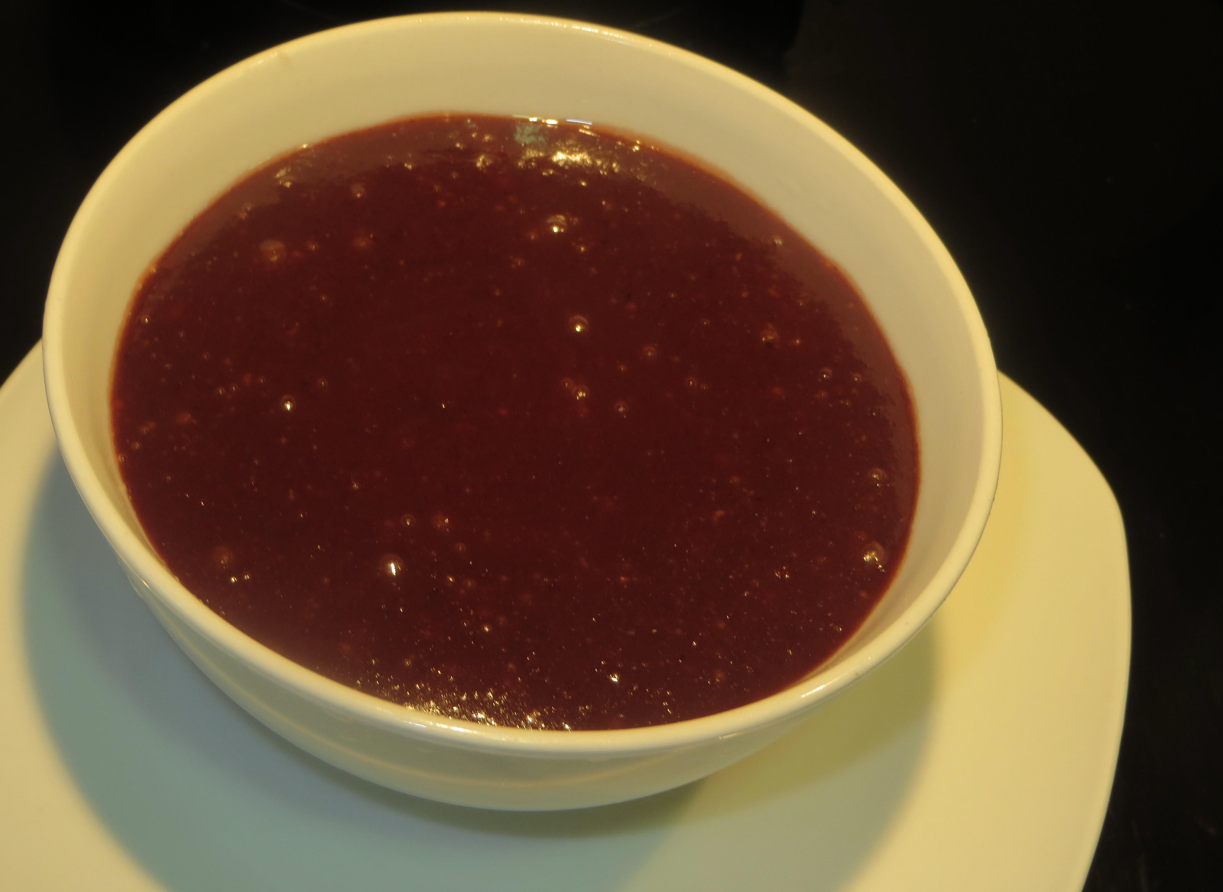 mermelada de soja roja