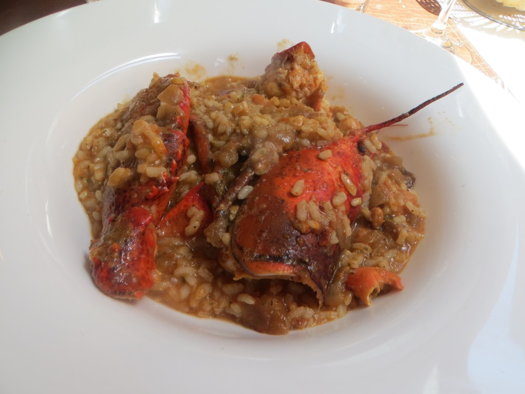 arroz con bogabante